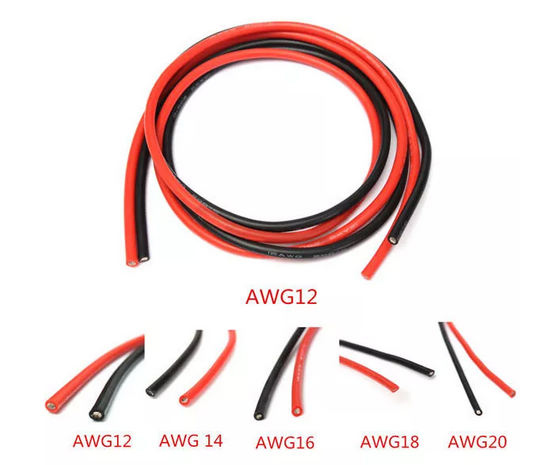 DANIU Silicone Flexible Wire Cable