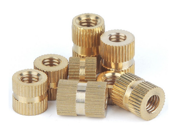 Copper Inserts Injection Nut
