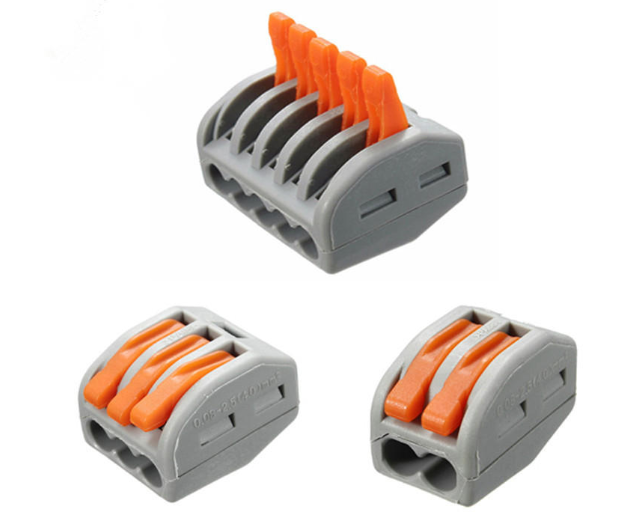 Electric Cable Wire Connector (Spring Terminal Block)